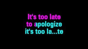 apologize timbaland ft onerepubl