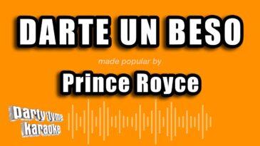 darte un beso prince royce