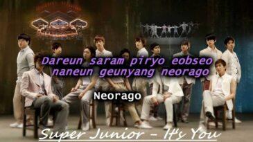 its you super junior