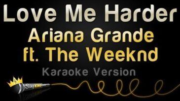 love me harder ariana grande y t