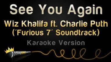 see you again wiz khalifa y char