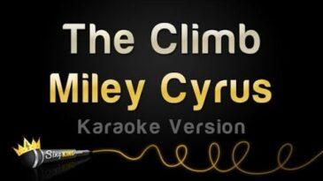 the climb miley cyrus