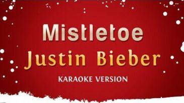 mistletoe justin bieber