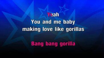 gorilla bruno mars