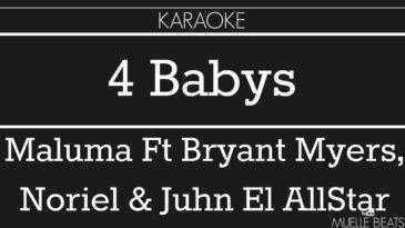 cuatro babys maluma ft noriel br