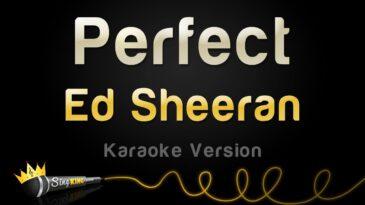 perfect ed sheeran