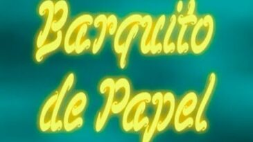barquito de papel joan manuel se