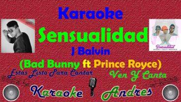 sensualidad bad bunny ft prince