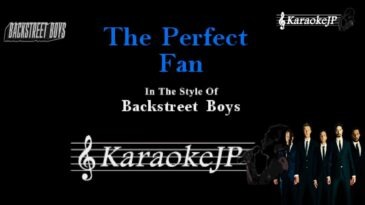 the perfect fan backstreet boys