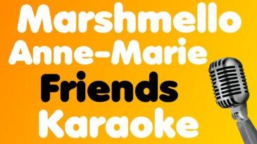 friends marshmello anne marie