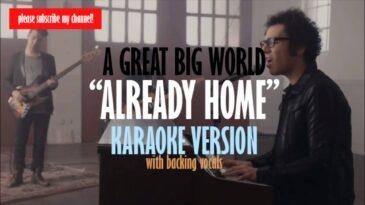 already home a great big world