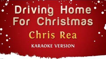 driving home for christmas chris