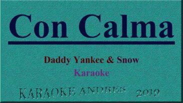 con calma daddy yankee snow