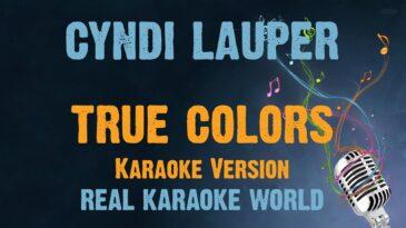 true colors cyndi lauper