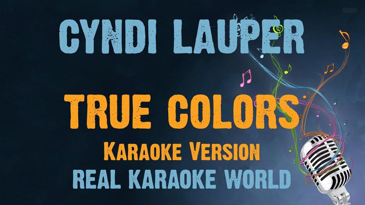 KARAOKE True Colors