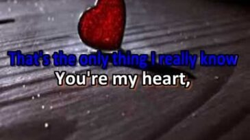 youre my heart youre my soul mod