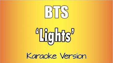 lights bts