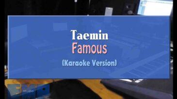 famous taemin