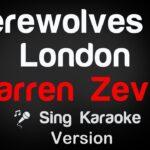 werewolves of london warren zevo