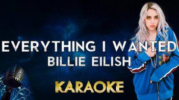 everything i wanted billie eilis