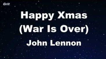happymas war is over john lenn
