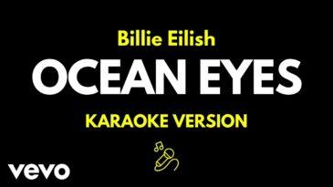 ocean eyes billie eilish