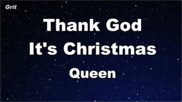 thank god its christmas queen