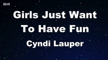 girls just want to have fun cynd