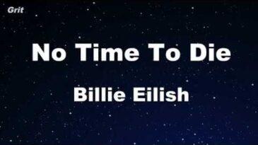 no time to die billie eilish