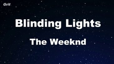 blinding lights the weeknd