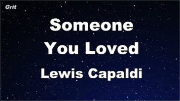 someone you loved lewis capaldi