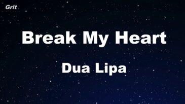 break my heart dua lipa