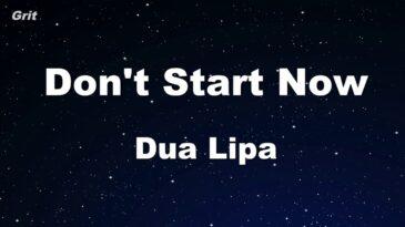 dont start now dua lipa