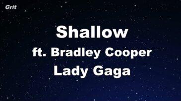 shallow lady gaga bradley cooper