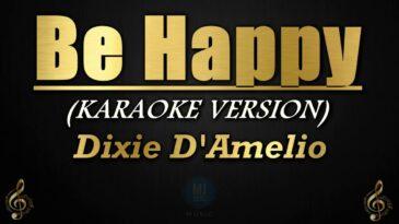 be happy dixie damelio