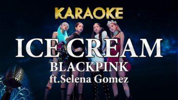 ice cream blackpink selena gomez