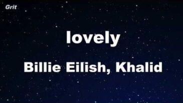 lovely billie eilish khalid