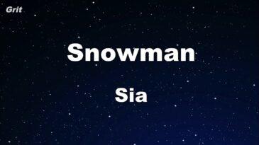 snowman sia