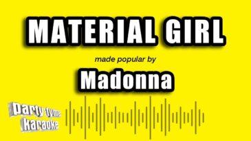 material girl madonna
