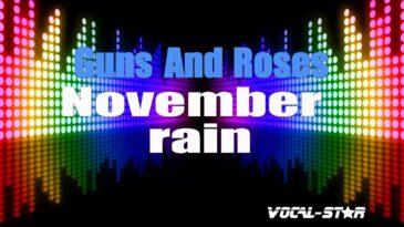 november rain guns n roses