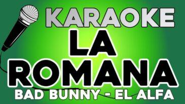 la romana bad bunny ft el alfa
