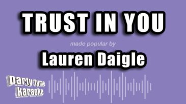 trust in you lauren daigle